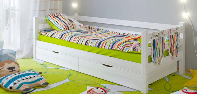 Купить детскую кровать в ТК Город Локомотив