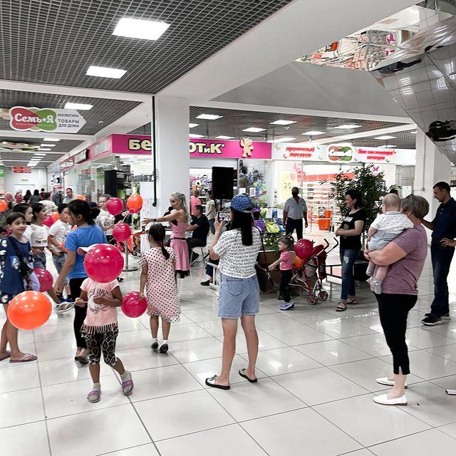 Празднование Дня детства в ТК Город Локомотив
