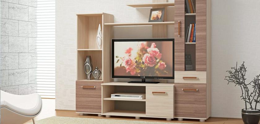 Купить мебельную стенку для гостиной в Оренбурге